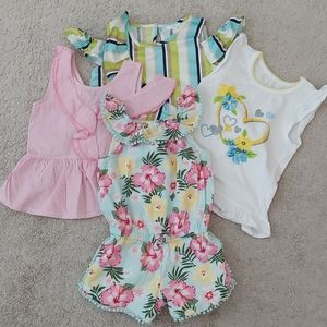 Toddler girl's clothing size 3T